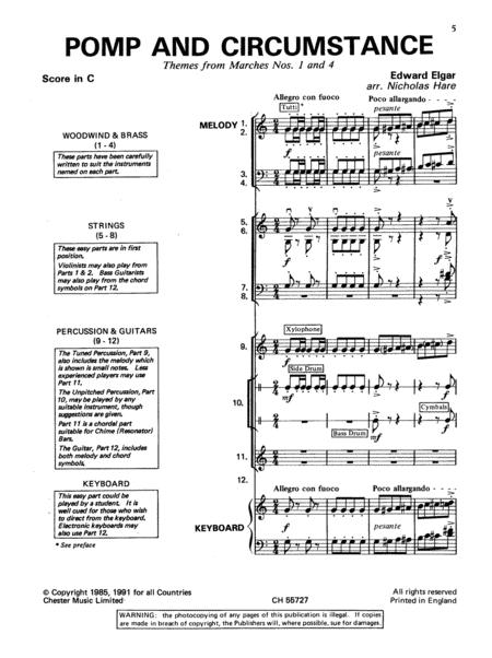 Pomp And Circumstance (Themes From Marches Nos. 1 And 4)
