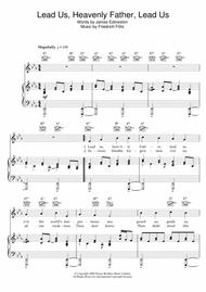 Download Lead Us Heavenly Father Lead Us Sheet Music By