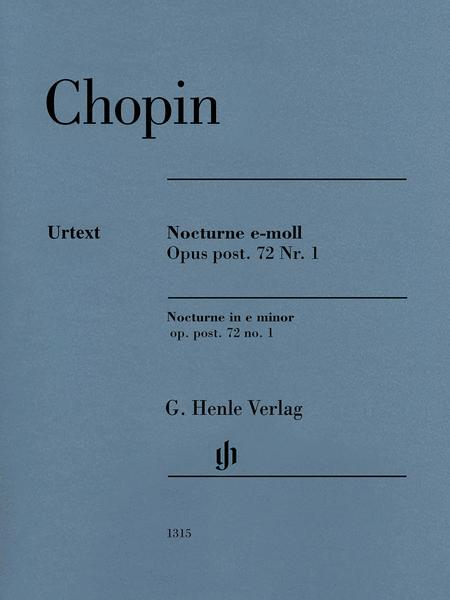 Nocturne in E Minor Op. Post. 72, No. 1