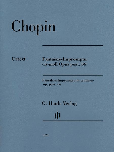 Fantaisie-Impromptu C-sharp Minor Op. Post. 66