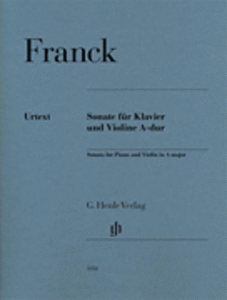 Sonata for Piano and Violin in A major