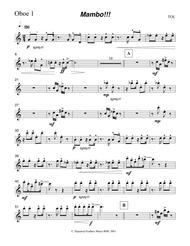 Mambo!!!  Oboe 1 part