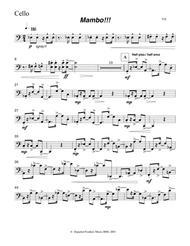Mambo!!!  Cello part