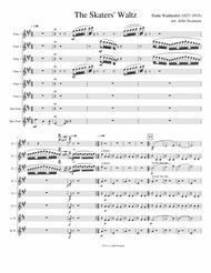 The Skaters' Waltz (Les Patineurs), for flute choir