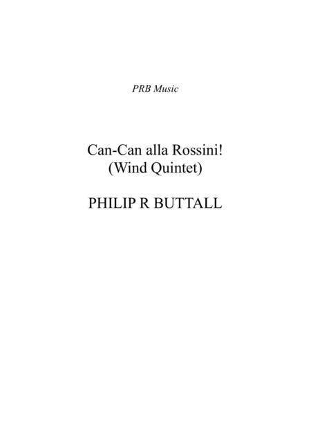 Can-Can alla Rossini (Wind Quintet) - Score
