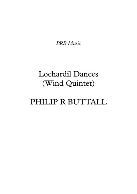 Lochardil Dances (Wind Quintet) - Score