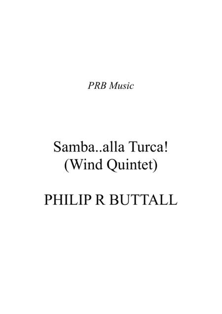 Samba alla Turca! (Wind Quintet) - Score