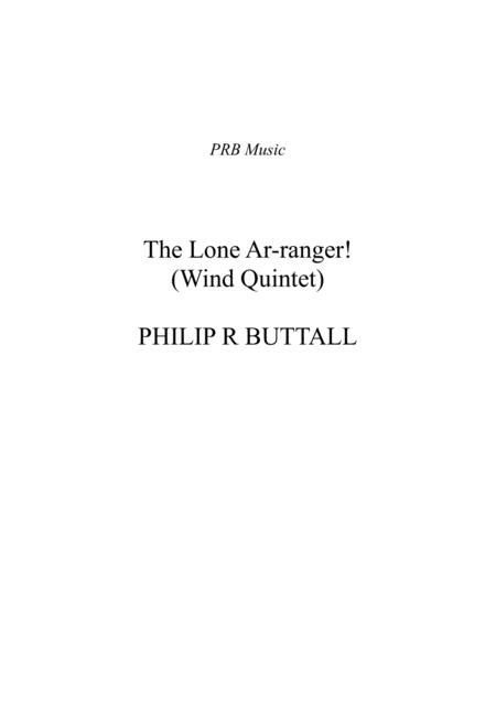 The Lone Ar-ranger (Wind Quintet) - Score