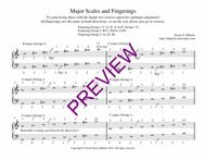 Studio DiPaolo's Major/Minor Scale and Arpeggio Fingering Charts (Arranged by Fingering Group)