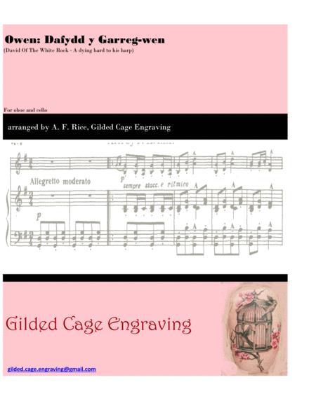 Dafydd y Garreg-wen (David Of The White Rock) for Cello and Oboe