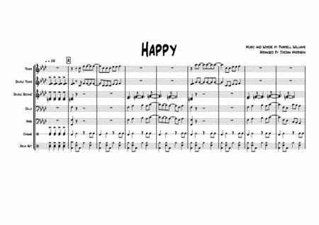 Happy By Pharrell Williams - Arrangement for Steel Drum Band