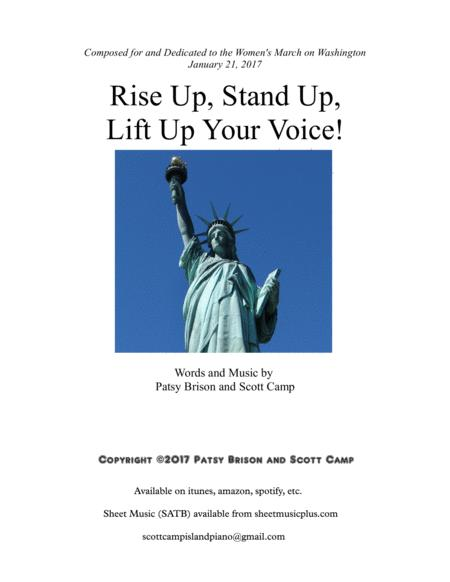 Rise Up, Stand Up, Lift Up Your Voice!