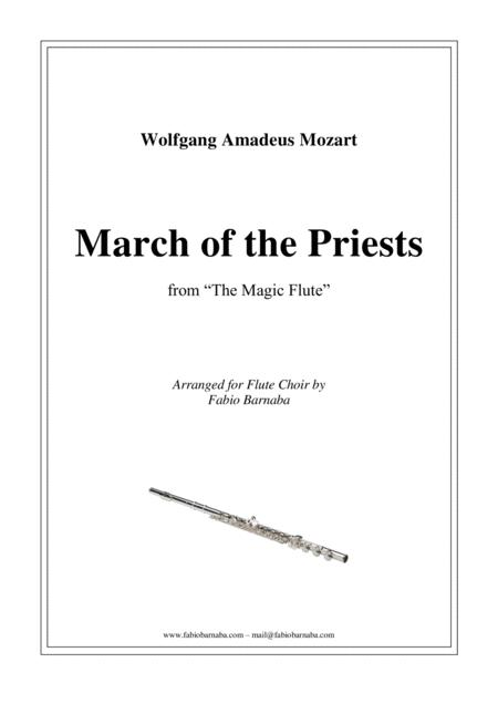 March of the Priests from Mozart's