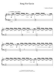 Song For Gavin