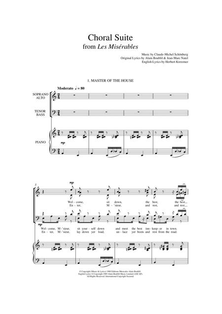 Choral Suite From Les Miserables (arr. Francis Shaw)