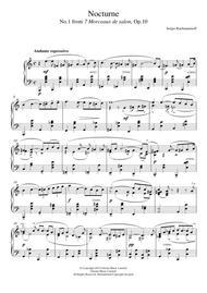 Nocturne (No.1 from 7 Morceaux de salon, Op.10)
