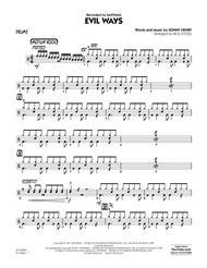Evil Ways - Drums
