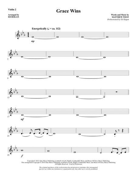 Grace Wins - Violin 2
