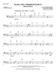 Savior, Like a Shepherd Lead Us (Blessed Jesus) - Bass