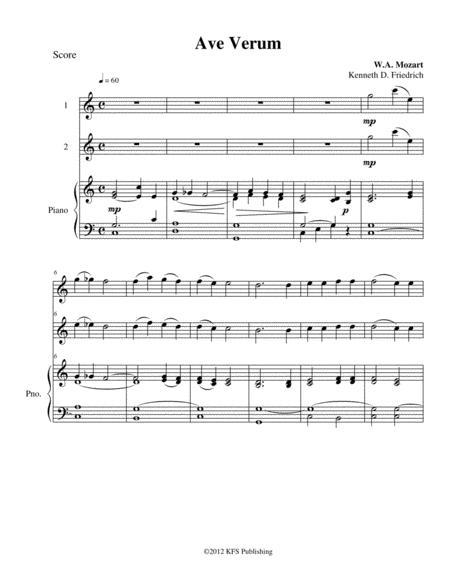 Mozart - Ave Verum