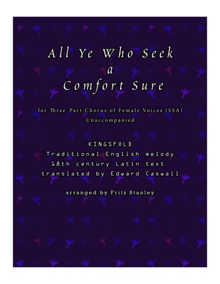 All Ye Who Seek a Comfort Sure - SSA A Cappella