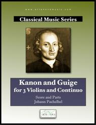 Kanon and Guige for 3 Violins and Continuo