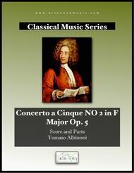 Concerto a Cinque No 2 in F Major op. 5 No 2