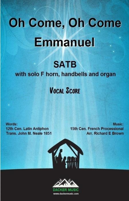 Oh Come, Oh Come Emmanuel - vocal score