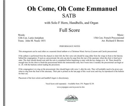 Oh Come, Oh Come Emmanuel - instrumental set