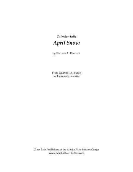 Calendar Suite - April Snow