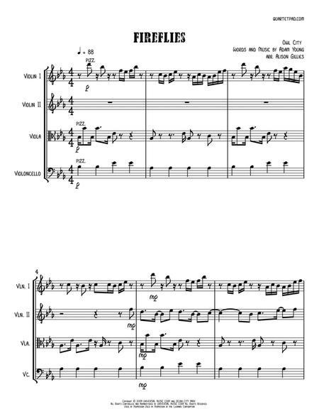 Fireflies - String Quartet