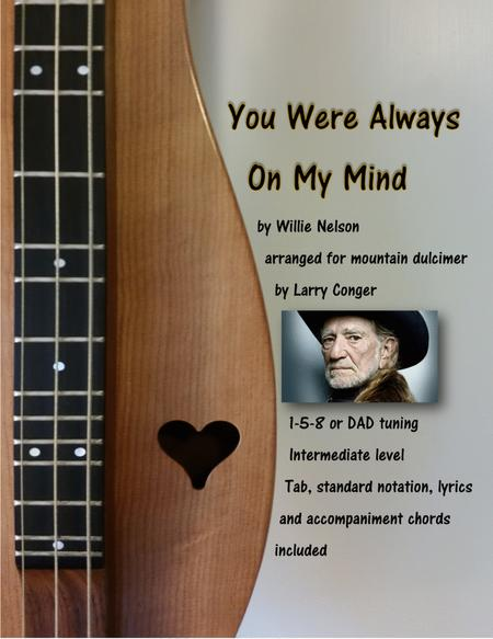 Download Always On My Mind Sheet Music By Willie Nelson Sheet