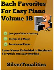 Bach Favorites for Easy Piano Volume 1B Sheet Music