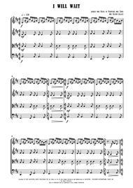 I Will Wait - String Quartet