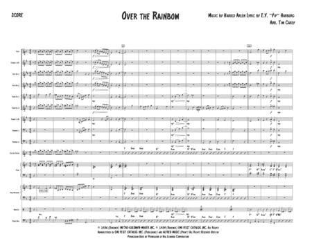 Over The Rainbow (from The Wizard Of Oz) - Jazz Band - Small big band