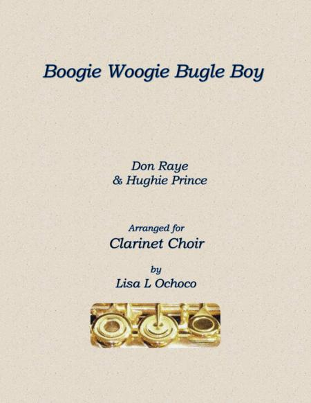 Boogie Woogie Bugle Boy for Clarinet Choir