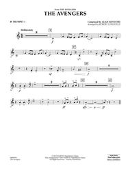 Download The Avengers - Bb Trumpet 1 Sheet Music By Alan Silvestri