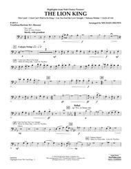 Highlights from The Lion King - Pt.4 - Trombone/Bar. B.C./Bsn.