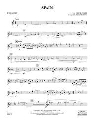 Spain - Bb Clarinet 1