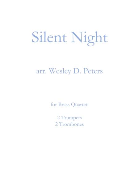 Silent Night (Brass Quartet)