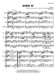Rather Be - String Quartet