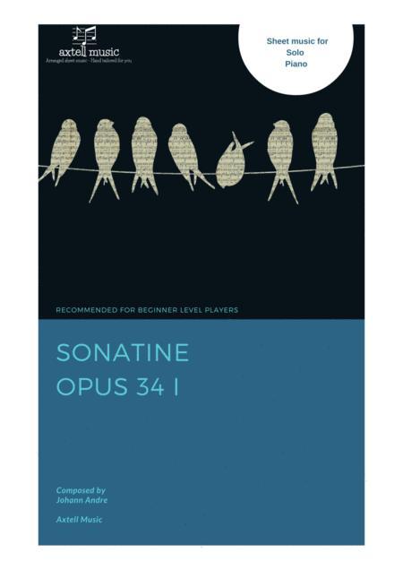 Sonatine Opus 34. I by Johann Andre