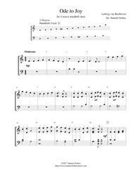 Ode to Joy (Joyful, Joyful, We Adore Thee) - for 3-octave handbell choir