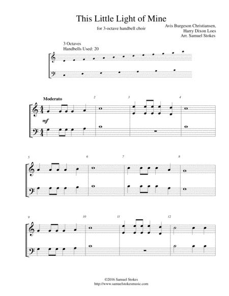 This Little Light of Mine - 3-octave handbell choir