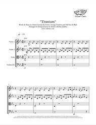 Titanium - String Quartet - David Guetta & Sia arr. Cellobat - Recording Available!