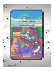 Horn Honkin' Boogie - easy piano solo