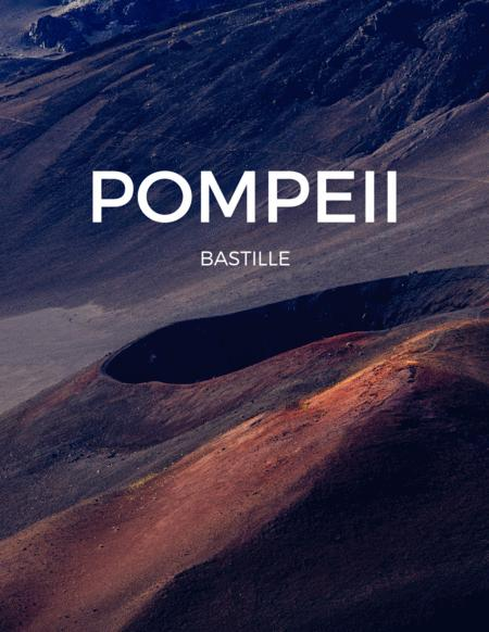 Pompeii by Bastille for Euphonium & Piano