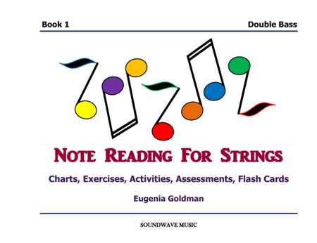 Note Reading for Strings Book 1 (Double Bass)