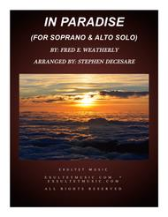 In Paradise (Duet for Soprano and Alto Solo)