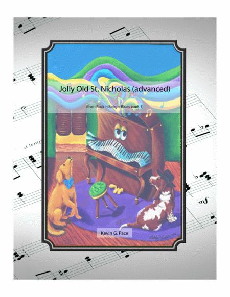 Jolly Old St. Nicholas Boogie - intermediate piano solo